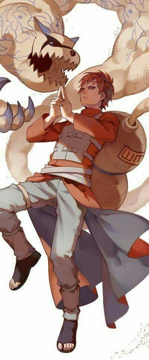 *Gaara Of The Sand / Shukaku*