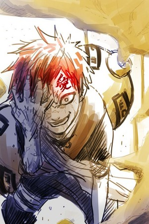 *Gaara Of The Sand*