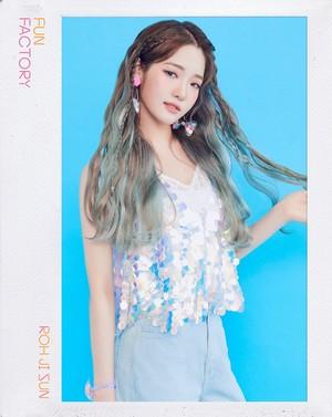 [HD] 프로미스나인 (fromis_9) 1st Single Album [FUN FACTORY] Official 写真 FUN ver. Jisun
