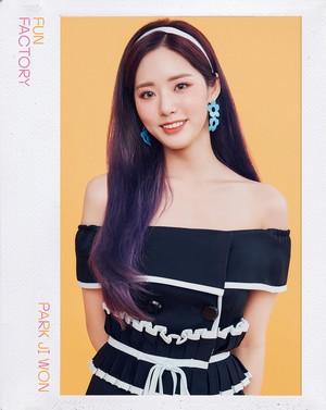 [HD] 프로미스나인 (fromis_9) 1st Single Album [FUN FACTORY] Official foto FUN ver. Jiwon