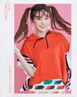 [HD] 프로미스나인 (fromis_9) 1st Single Album [FUN FACTORY] Official foto FUN ver. Hayoung