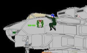(Partial view) Aurora Sterling and VFH-12B Super Auroran