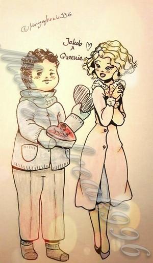 Queenie/Jacob Drawing