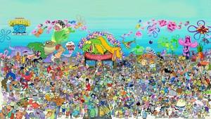 'Spongebob Squarepants' 20th Anniversary Poster