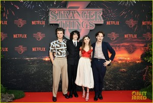 'Stranger Things' Stars Step Out for Paris Red Carpet Premiere!