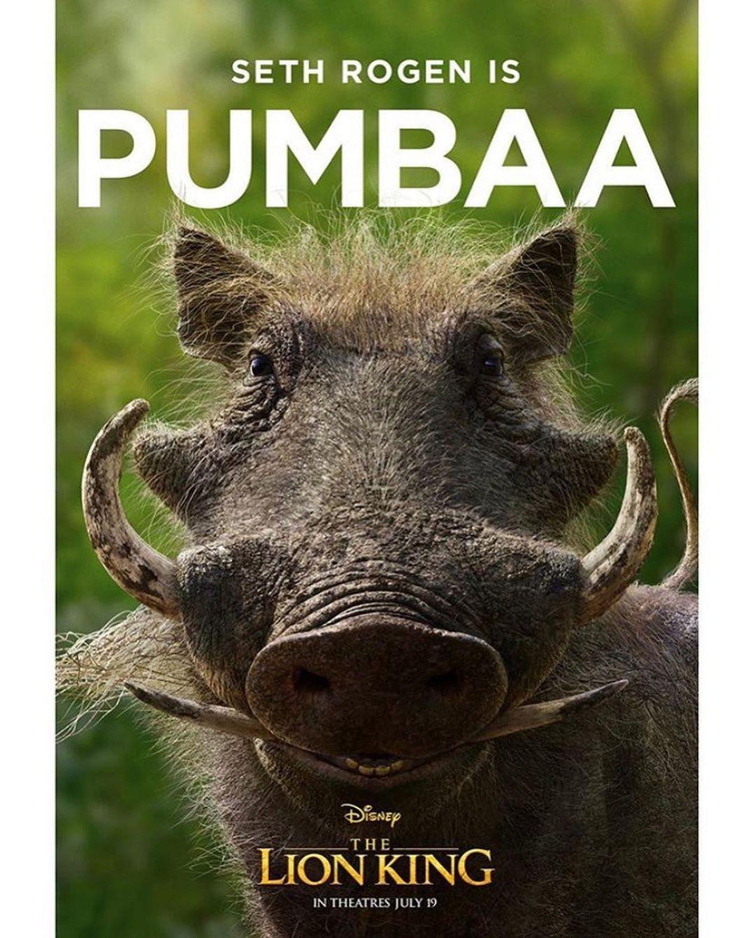 The Lion King: Pumbaa