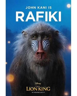 The Lion King: Rafiki