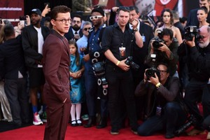 Tom Holland -Spider-Man: Far From 首页 Premiere (June 26, 2019)
