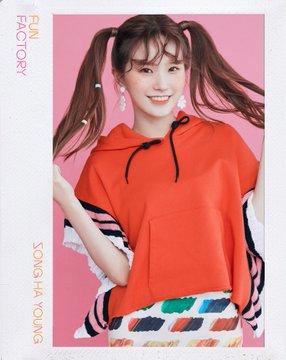 프로미스나인 (fromis_9) 1st Single Album [FUN FACTORY] Official 写真 FUN ver. Song Hayoung