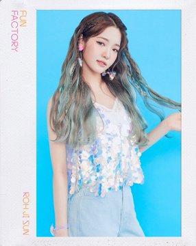 프로미스나인 (fromis_9) 1st Single Album [FUN FACTORY] Official foto FUN ver. Roh Ji Sun