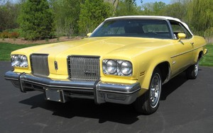 1974 Oldsmobile Delta 88 Royale کونویرٹئبل, متحول سیار