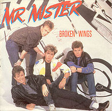 1985 Promo Ad Broken Wings