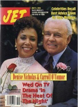 Denise Nicholas And Carroll O'Connor On The Cover Of Jet