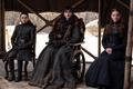 8x06 - The Iron Throne - Arya, Bran and Sansa - game-of-thrones photo