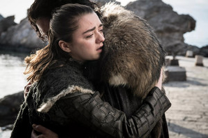 8x06 - The Iron takhta - Arya and Jon