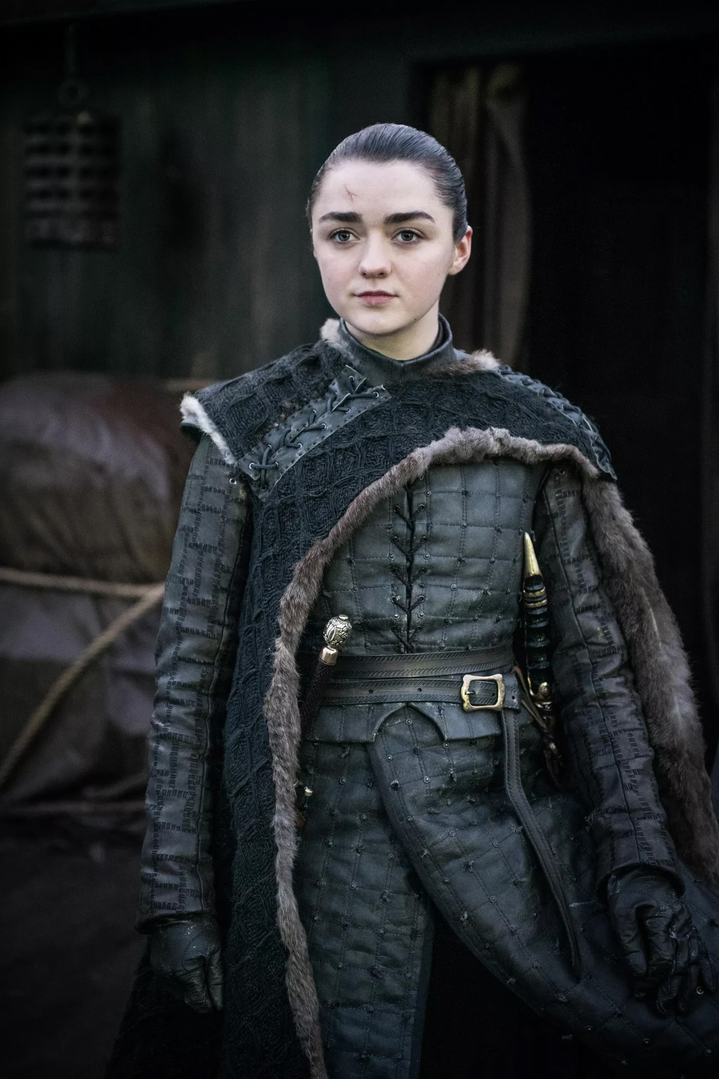 8x06 - The Iron trône - Arya