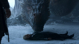 8x06 - The Iron takhta - Daenerys and Drogon