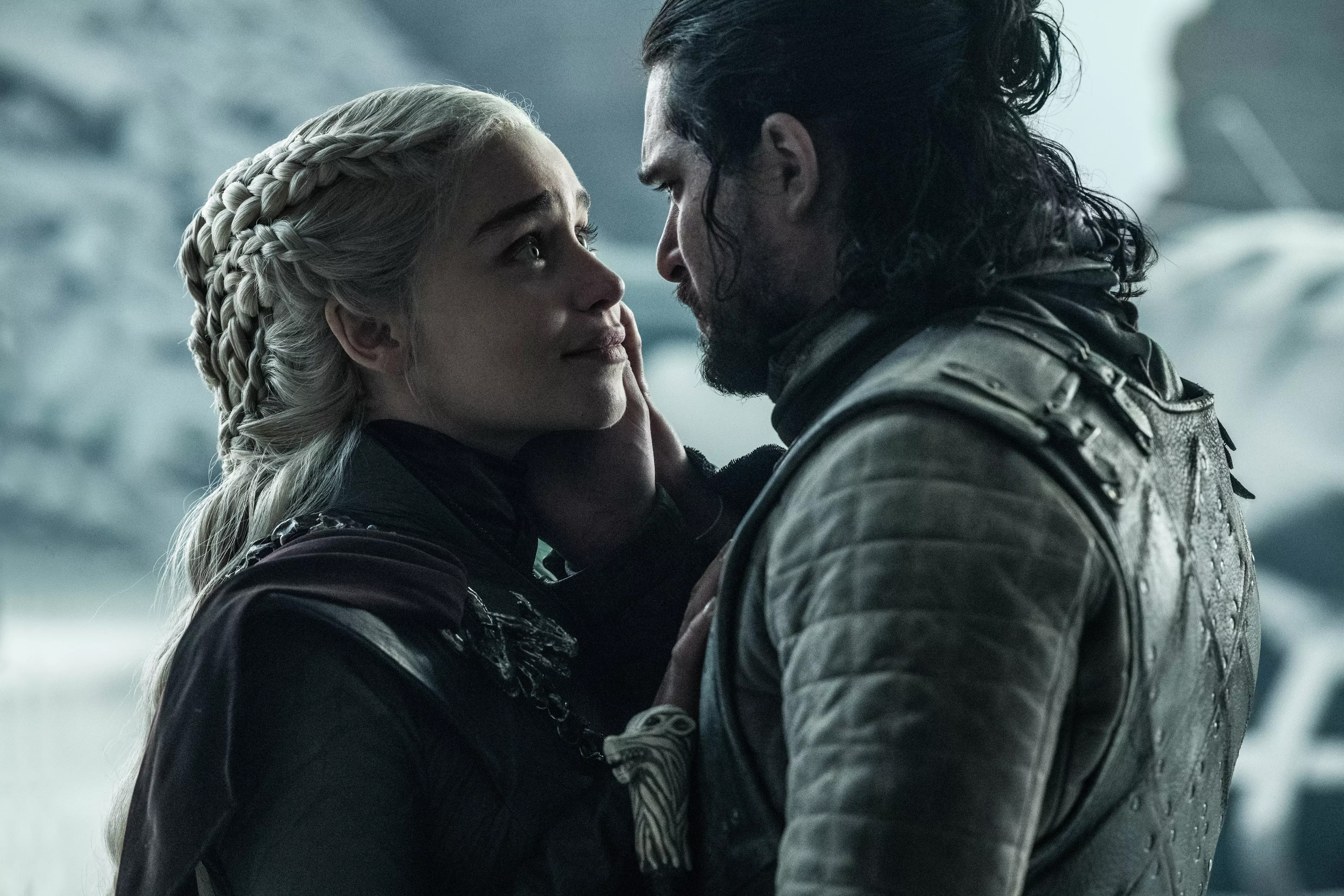 8x06 - The Iron 왕좌, 왕위 - Daenerys and Jon