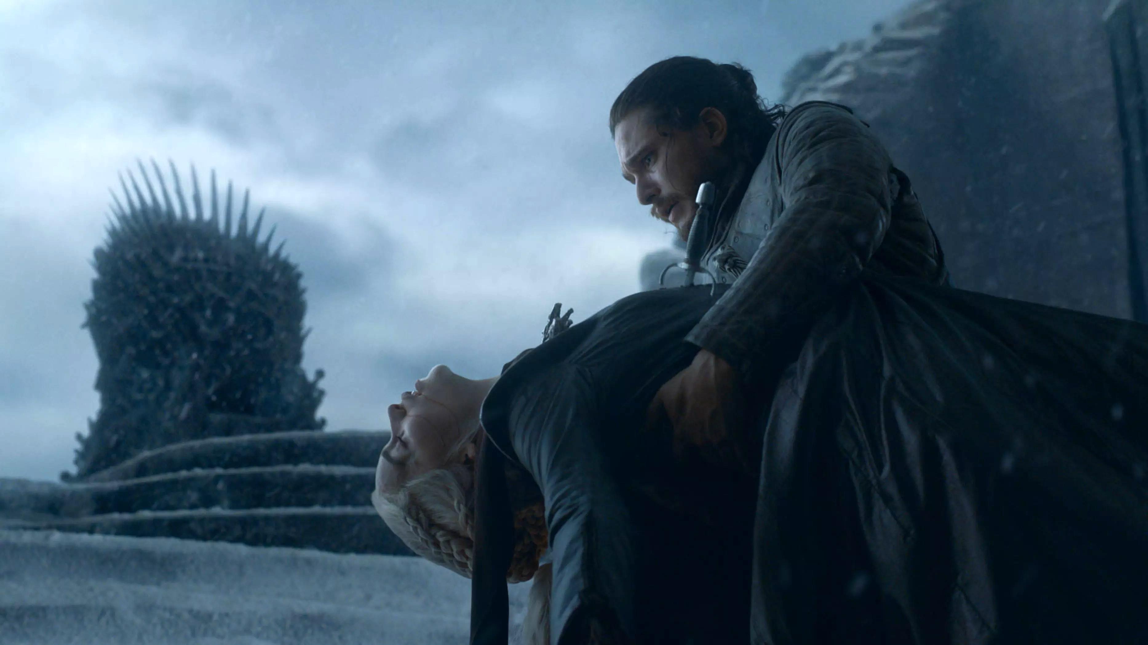 8x06 - The Iron trono - Daenerys and Jon