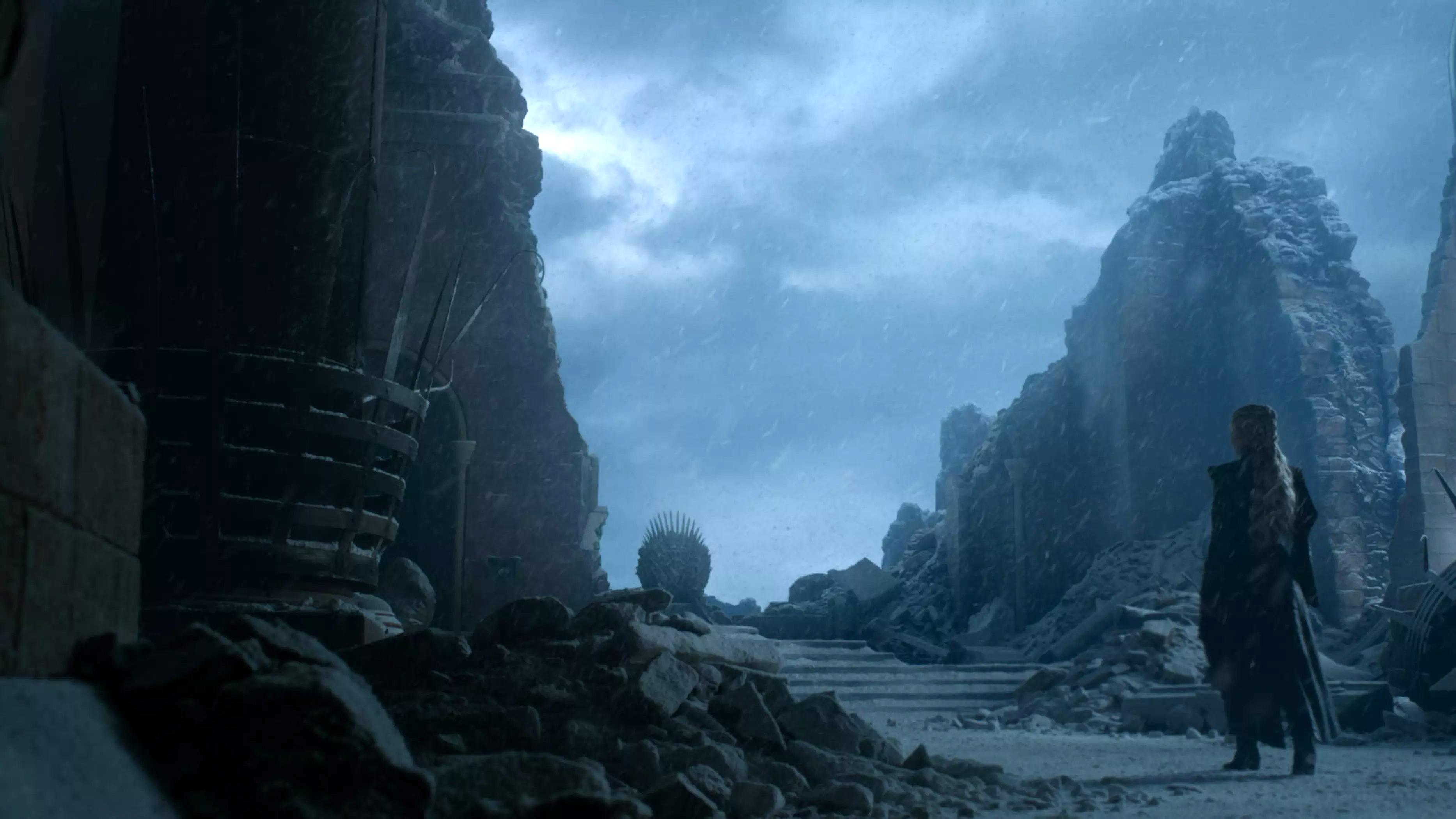 8x06 - The Iron সিংহাসন - Daenerys