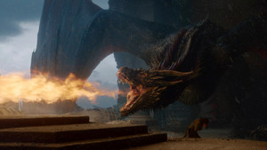 8x06 - The Iron takhta - Drogon
