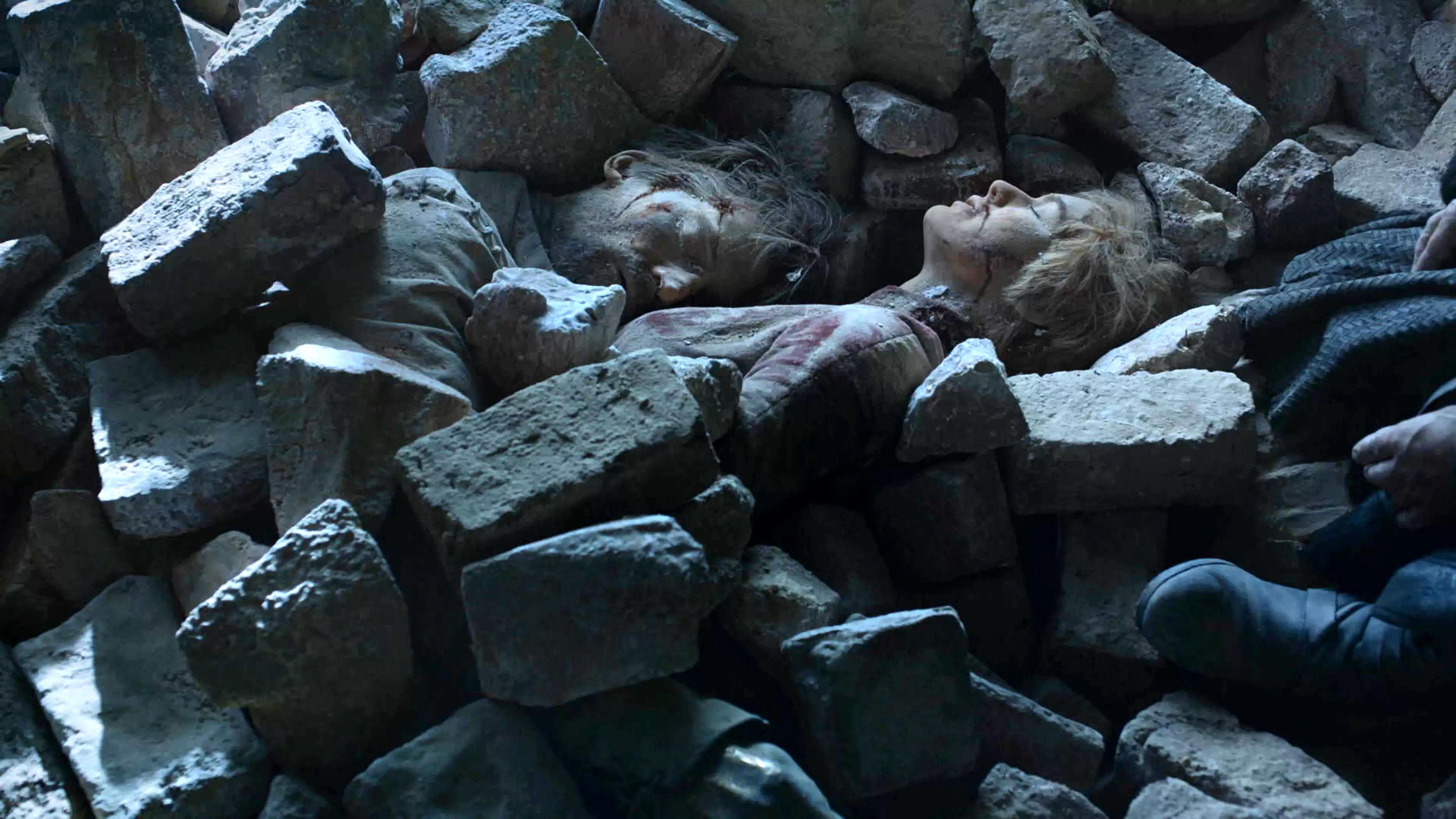 8x06 - The Iron تخت - Jaime and Cersei