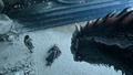 8x06 - The Iron Throne - Jon, Daenerys and Drogon - game-of-thrones photo