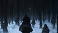 8x06 - The Iron Throne - Jon and the Free Folk - game-of-thrones photo