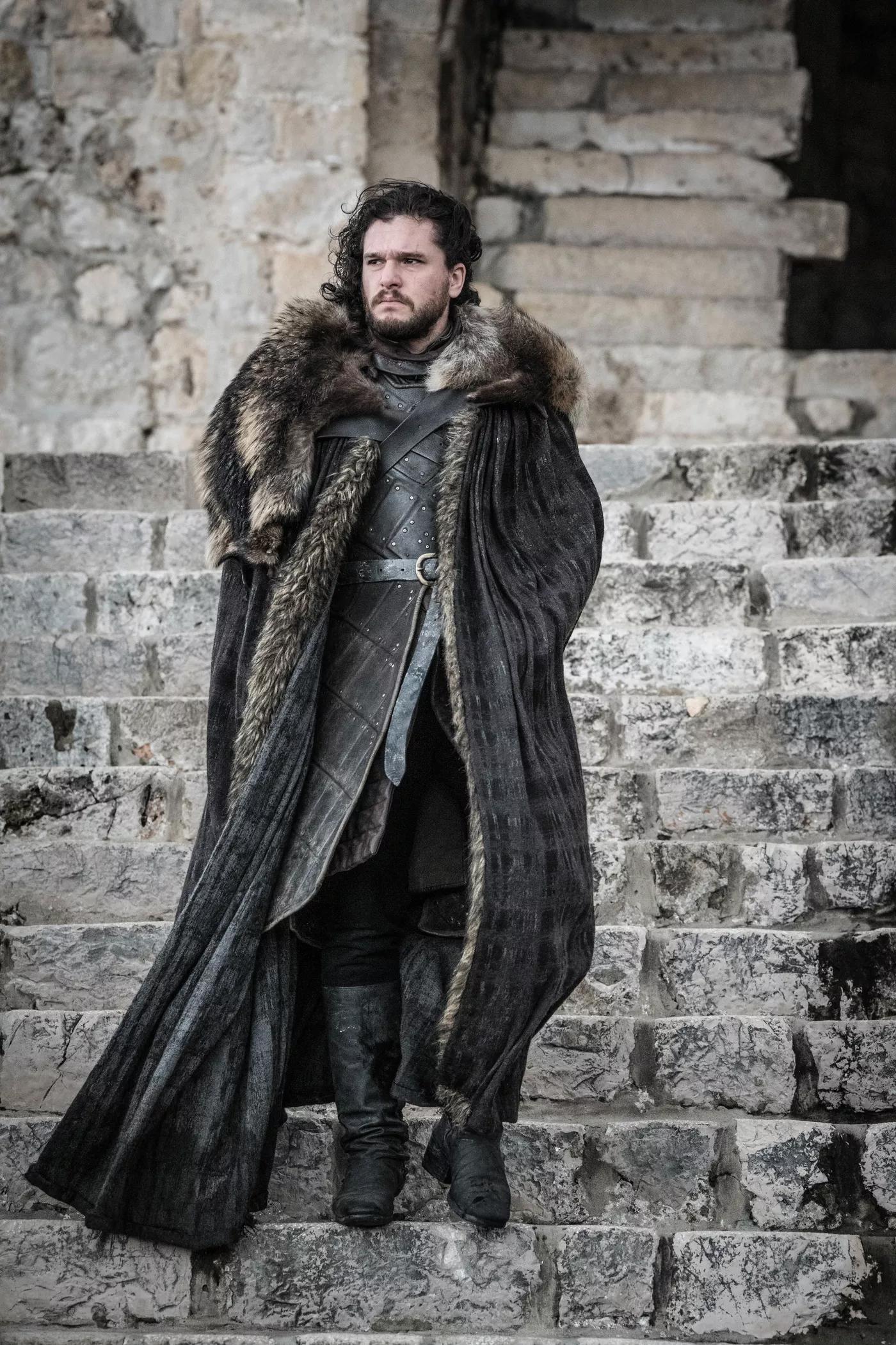 8x06 - The Iron trono - Jon