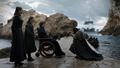 8x06 - The Iron Throne - Sansa, Arya, Bran and Jon - game-of-thrones photo