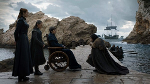 8x06 - The Iron Throne - Sansa, Arya, Bran and Jon