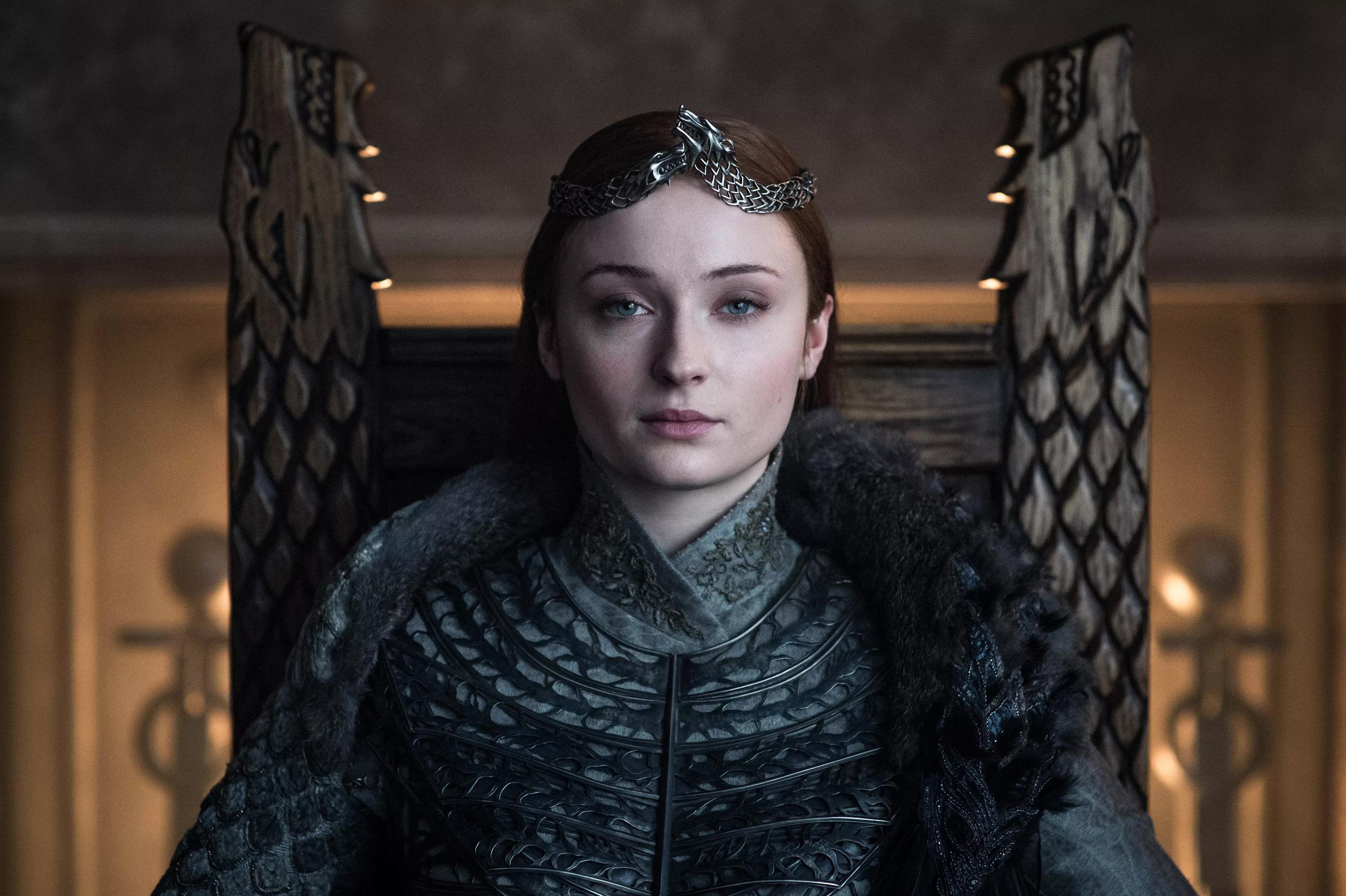 8x06 - The Iron सिंहासन - Sansa