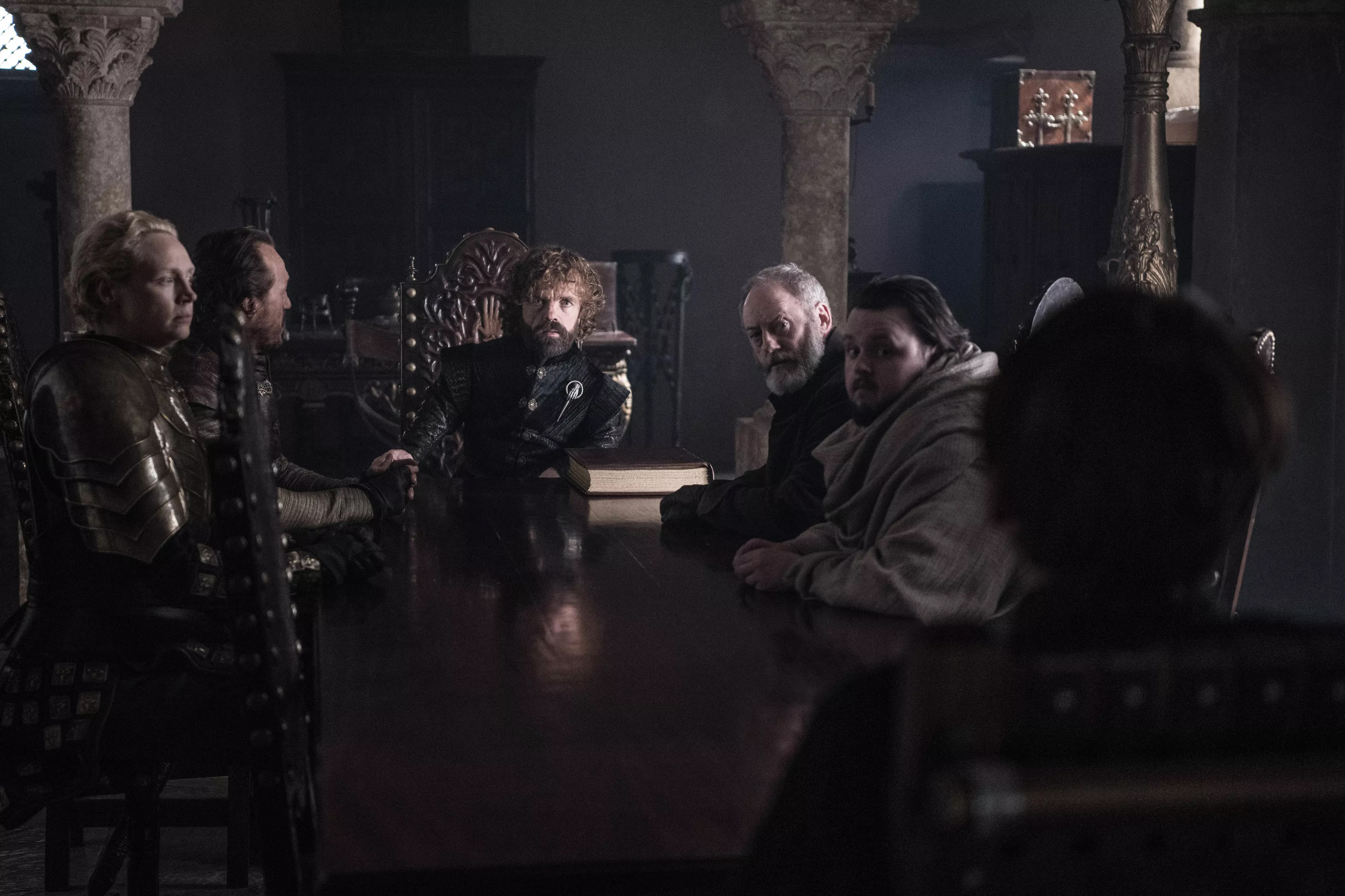 8x06 - The Iron 王位 - The Small Council