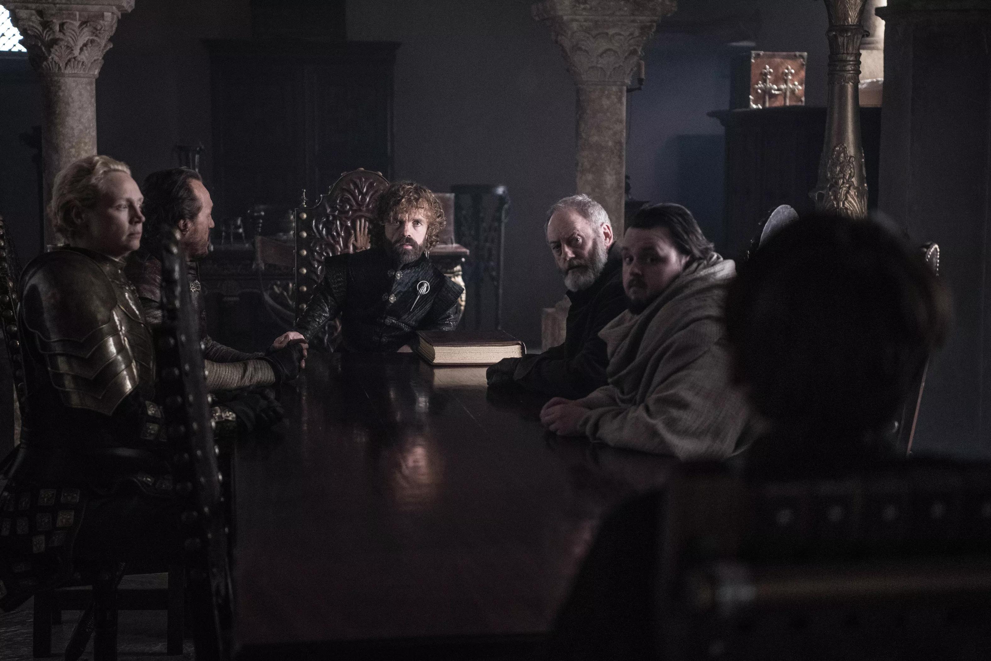 8x06 - The Iron सिंहासन - The Small Council
