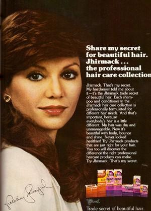 A Vintage Promo Ad For Jhirmack Hair Care limoen, kalk