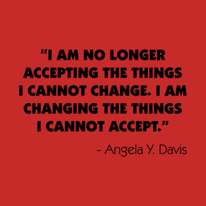 A Quote From Angela Davis