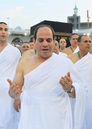 ABDELFATTAH ALSISI PRESIDENT SATAN ISRAEL OF EGYPT IN SAUDI ARABIA