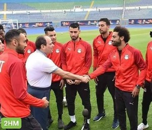 ABDELFATTAH ELSISI SAY HAPPY BIRTHDAY MOSALAH