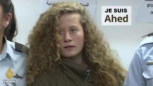 """Ahed Tamimi """"Jeanne d'Arc du pauvre"""""""