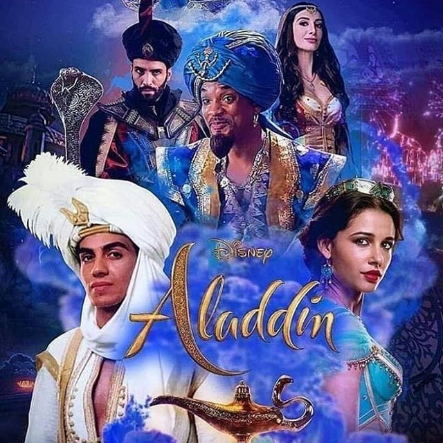 Aladdin 2019 Poster Mena Massoud Fan Art 42839947 Fanpop