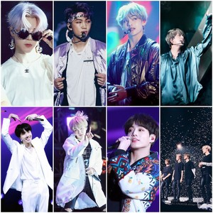 All BTS Member's Collage
