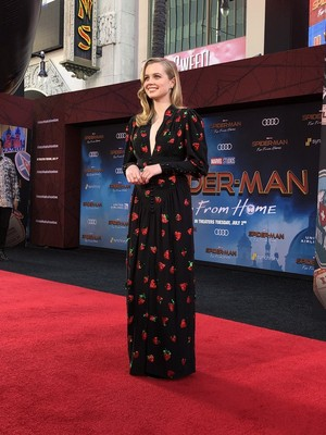 Angourie rijst -Spider-Man: Far From home pagina Premiere (June 26, 2019)
