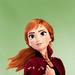 Anna - disneys-frozen-2 icon