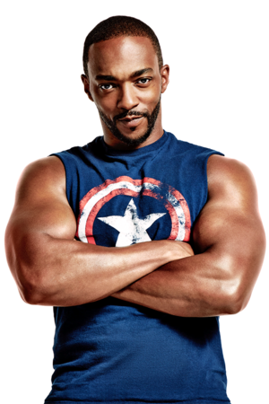 Anthony Mackie photographed por Ture Lillegraven for Men's Health (2019)