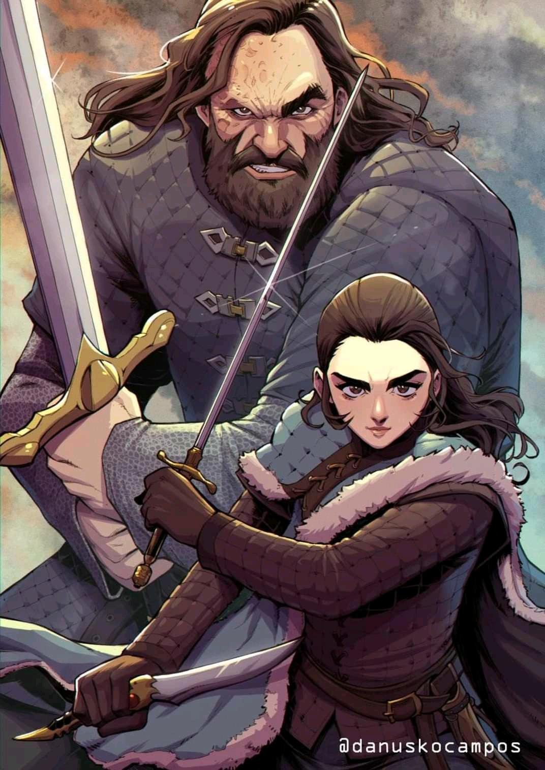 Arya and Hound duo