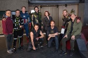 Avengers: Endgame (2019) behind the scenes still