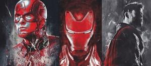 Avengers Endgame promo অনুরাগী art