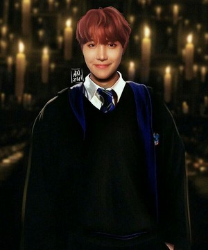 Bangtan Boys Harry Potter