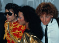 Backstage At The 1984 Ametican Musuc Awards - michael-jackson photo