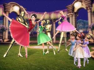 바비 인형 12 Dancing Princesses